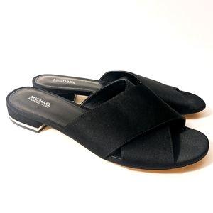 Michael Michael Kors Shelly Flat Sandals black9.5